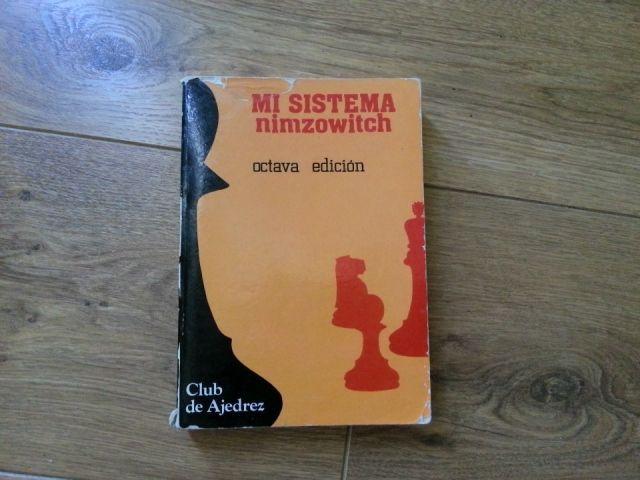 """Portada del libro """"Mi sistema"""" de Nimzowitch"""
