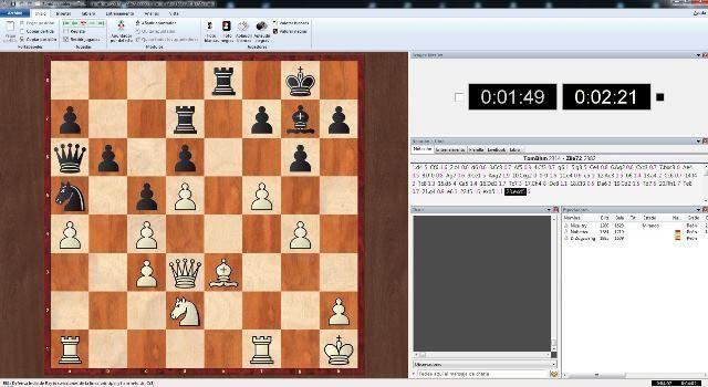 tablero de ajedrez en linea de chessbase