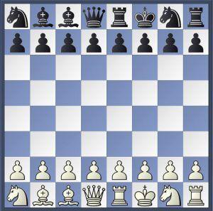 Posición de ajedrez 960