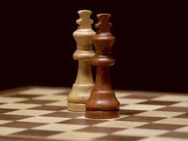 Posición de empate en una partida de ajedrez