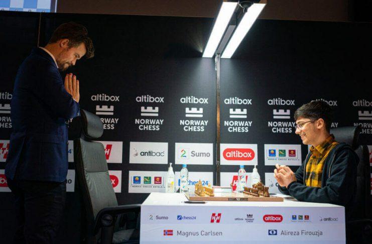 Norway Chess 2020. 2da Ronda. Carlsen v Firouzja