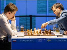 Tata Steel Chess 2021. Grandelius lider