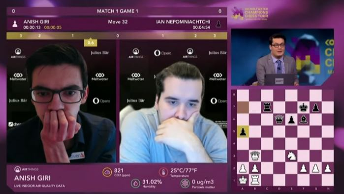 1er día Final Magnus Carlsen Invitationl.